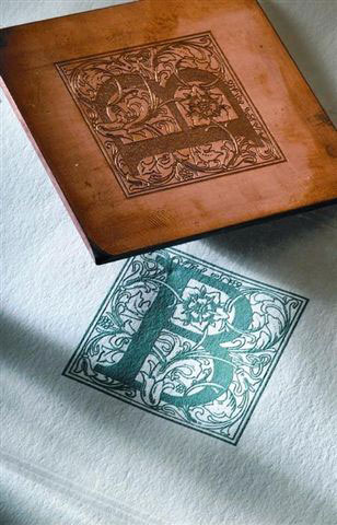 Engraved Stationery by Crane & Co using Copper Plate