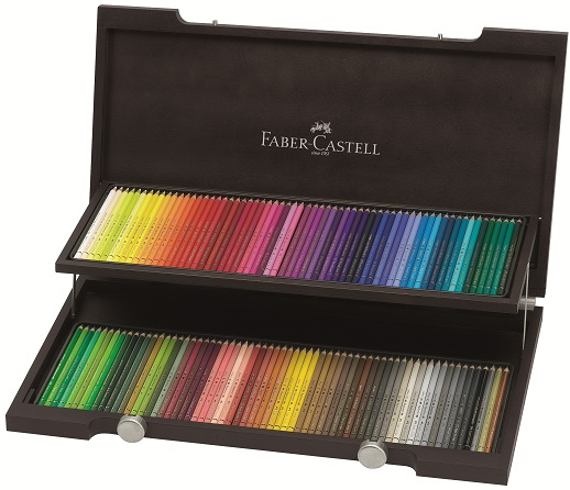 FABERCASTELL_ArtGraphic_120_Polychromos_Pencils_in_Wooden Case