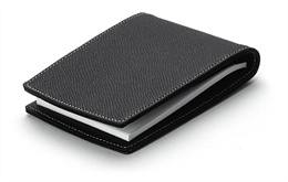 GRAFVONFABERCASTELL_DeskAccessories_Notepad_with_Pen_Pod_Black_Brown_Grained