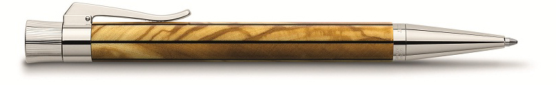 GRAFVONFABERCASTELL_LimitedEdition_Elemento_Olive_Ball_Pen