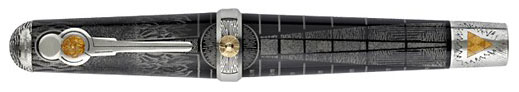 MONTEGRAPPA_Alchemist_Limited_Edition_Sterling_Sliver_Rollerball