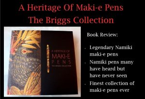 Japanese Maki-e Pen Book published by Graeme Briggs