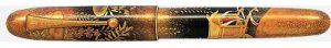 Full view of Namiki Yukari Royal Court Carriage Wisteria fountain pen