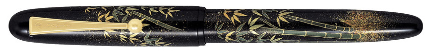 Full view of Namiki Yukari Bamboo fountain pen