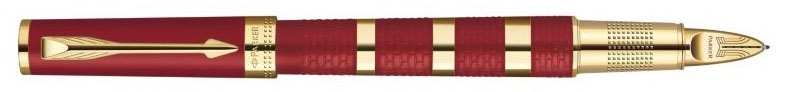 Parker 5th Ingenuity Large Red Rubber and Metal