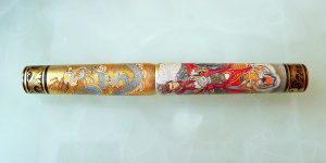 Phoenix Lacquer Art Monkey God Pen