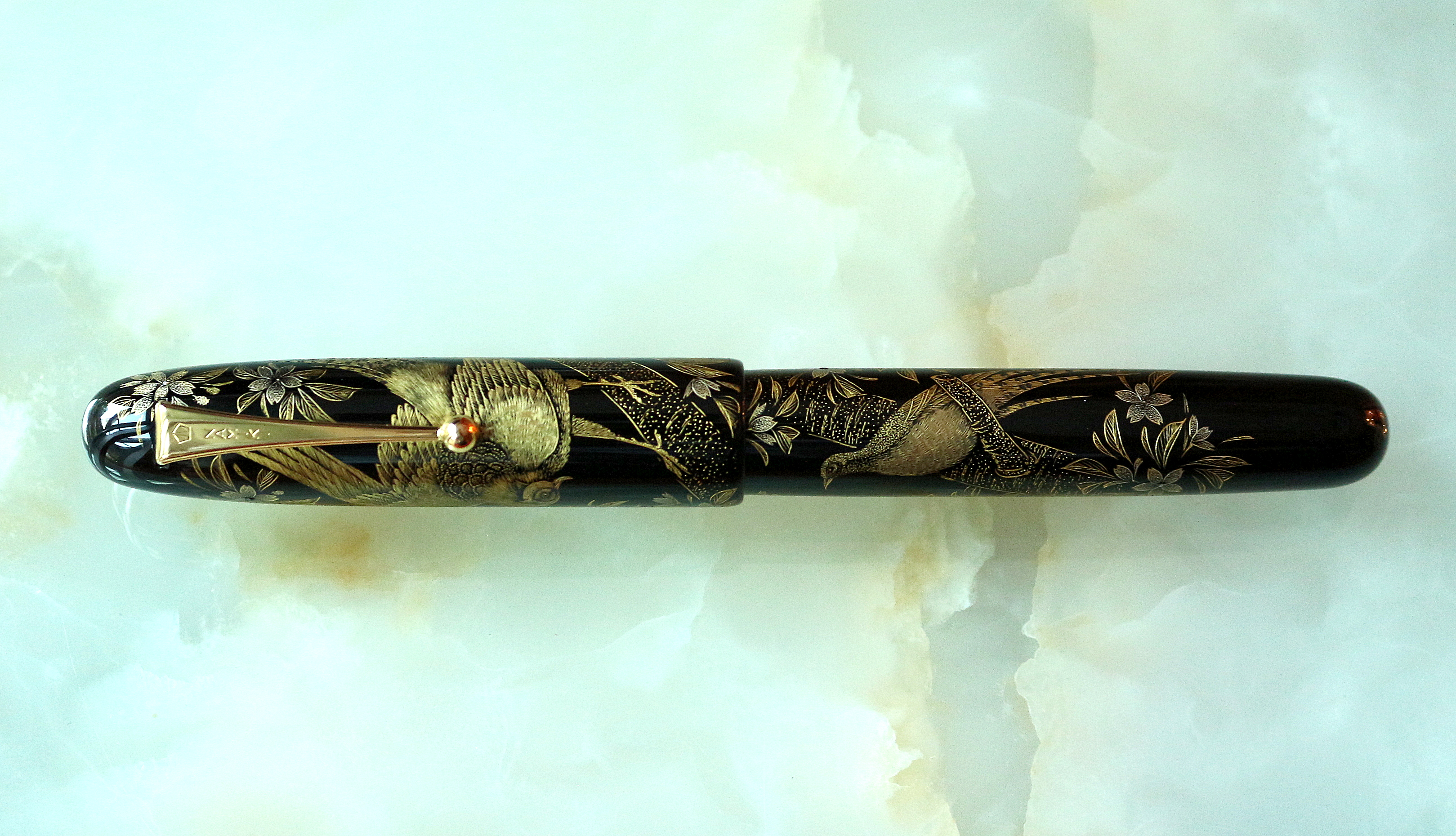 Chinkin Sakura Pheasant Limited Edition Pen