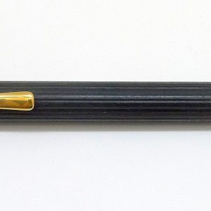 Pinstripe ebony wood Graf von Faber Castell Gold Plated Ebony Mechanical Pencil