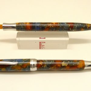 Mosaic Brown Calligraphy Pen Set