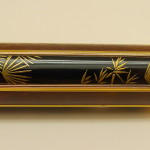 Panel view of Chinese lacquer on Faber Castell new Pen of Year 2016