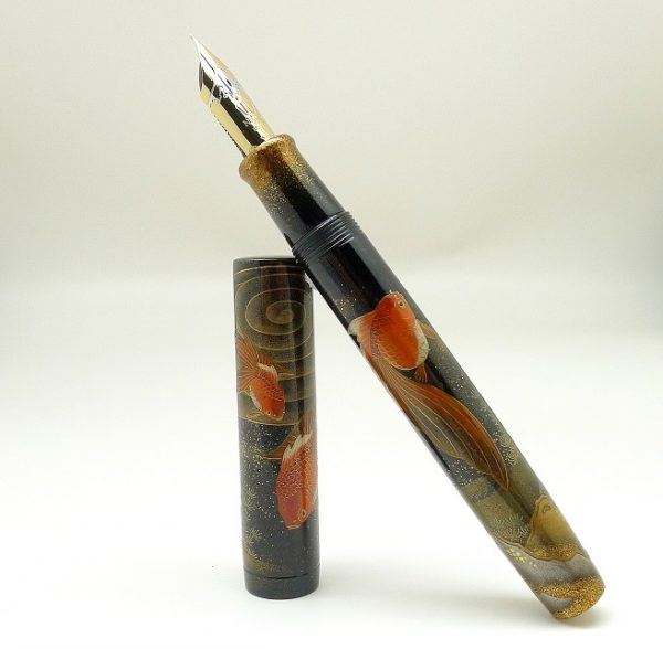 Namiki Emperor Gold Fish fountain pen