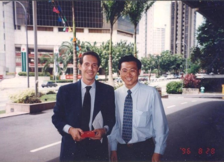 Omas Gianluca Malaguti In Singapore