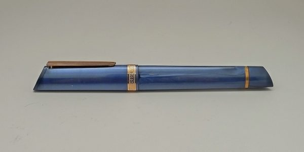 Omas 360 Resin Blue Rose Rollerball Pen