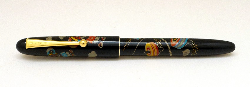 Namiki Nippon Art Toy Collection - Koma (Spinning Top) Fountain Pen