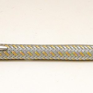 Steel and Gold Mechanical Pencil by Porsche Design