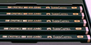Faber Castell 111th Anniversary Castell 9000 Jumbo Graphite Pencils