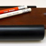 Pineider Red and White Pencils and Case