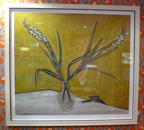 Large format Sanyu Chang Yu artist works on print