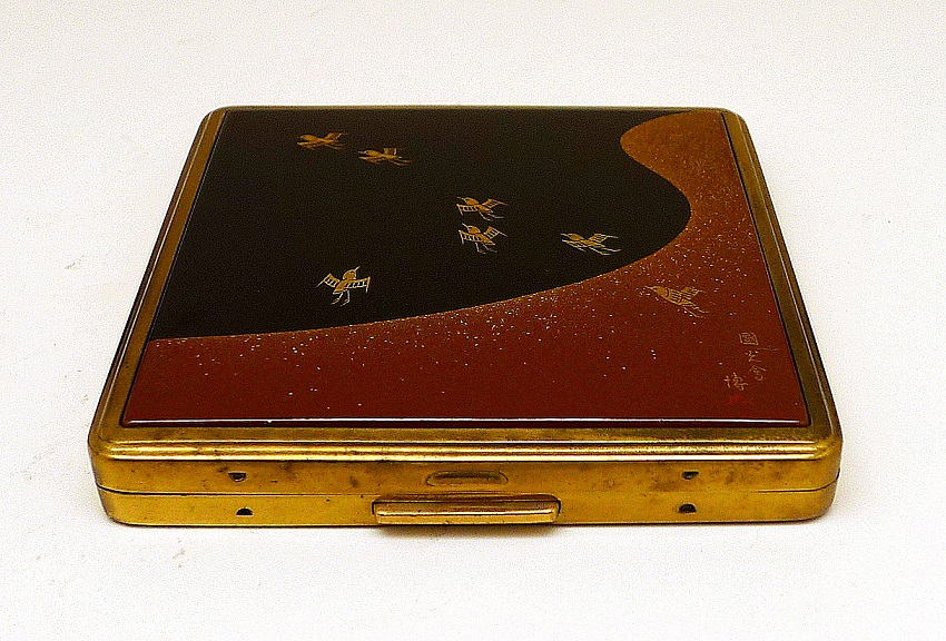 Pilot Vintage Japanese Makie Cosmetics Box Available For