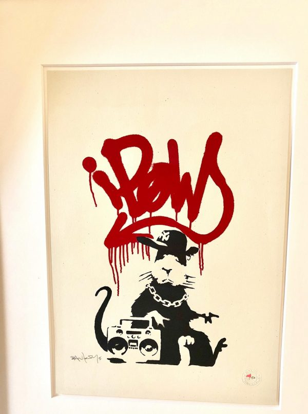 Finding Banksy Gangsta Rat in Singapore