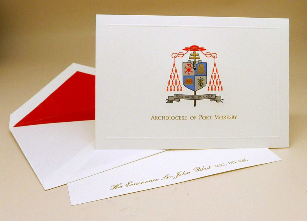 Personalized stationery by Cranes