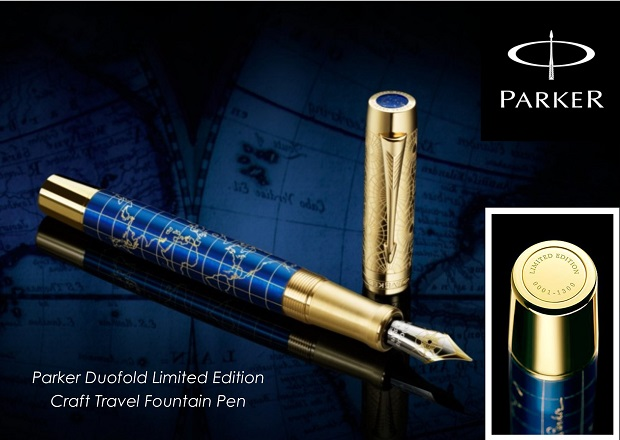 Parker Duofold Craft Travel