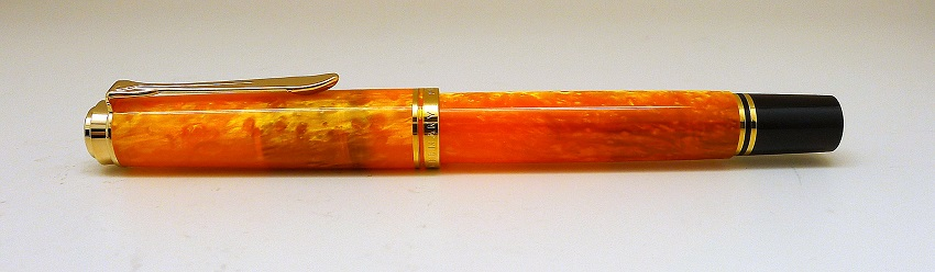 Pelikan Vibrant Orange Fountain Pen