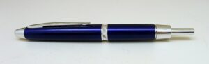 Pilot Capless Luxury Silent Blue Fountain Pen