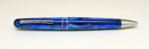 Montegrappa Elmo 01 Fantasy Blooms Blue Cross Gentian Ballpoint Pen