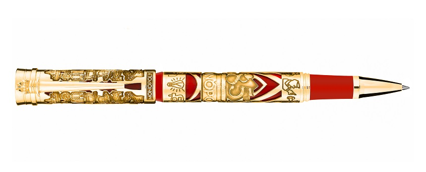 Solid Gold Rollerball 85 Anniversary Monopoly by Montegrappa