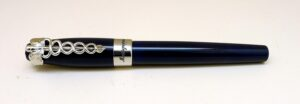 Montegrappa Caduceus Navy Blue Fountain Pen