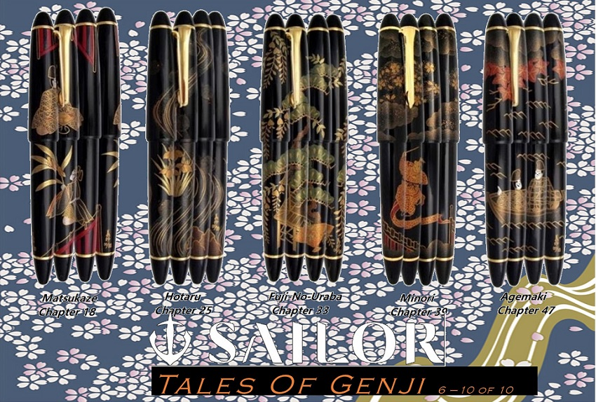Sailor Limited Edition Tale of Genji